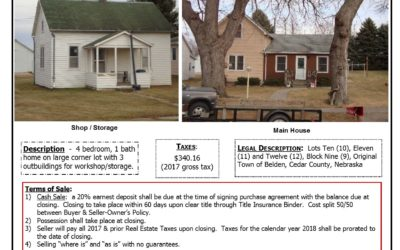 304 Cedar St., Belden, NE ~ SOLD