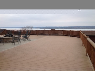 1 Riverview - exterior deck and view