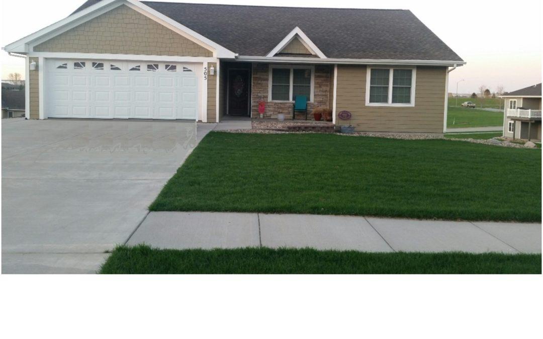 505 W. Darlene St., Hartington, NE  68739  1,411 sq. ft.;  3-4 bdrm; 3 bath;  $264,500.00 NEW PRICE   Open House Thurs., 7-18-2019 4-6pm