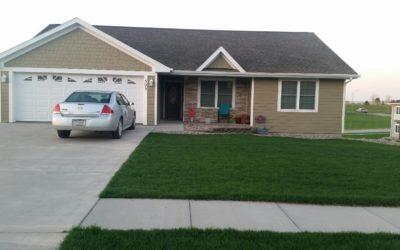 505 W. Darlene St., Hartington, NE  68739  1,411 sq. ft.;  3-4 bdrm; 3 bath;  $274,500.00