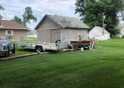 208 W 2nd, Laurel - detached garage
