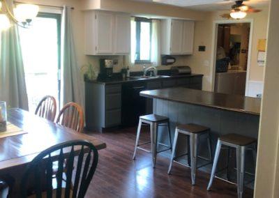 706 Cedar - kitchen + dining room