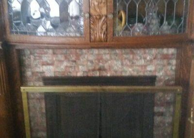 104 E. Grant, Blmfld - fireplace