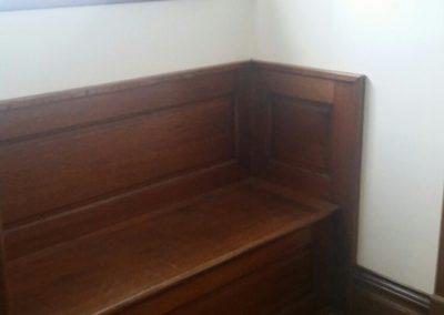 104 E. Grant, Blmfld - foyer bench