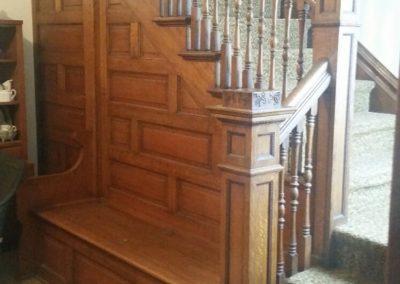 104 E. Grant, Blmfld - open staircase