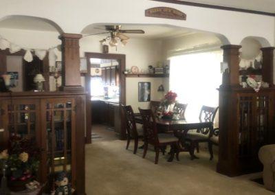 123 W 4th, Allen - living room + dining room