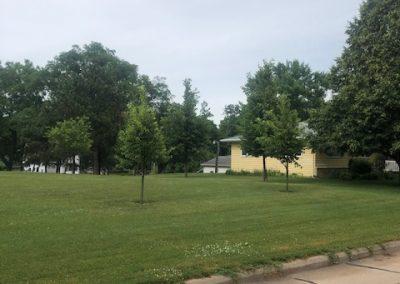 516 W 3rd, Laurel - side yard 2 (summer)