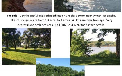 River Front Living Lots For Sale $85,000 – $115,000