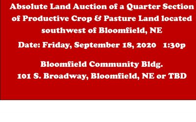 Upcoming Absolute Land Auction – SALE PENDING