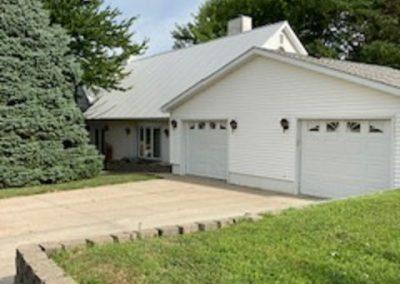 312 S Clark, Bloomfield - garage