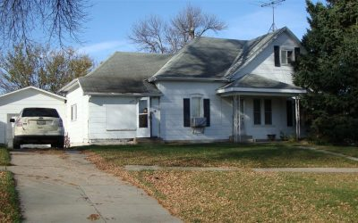 502 Oak St., Laurel, NE  68745  1,531 sq. ft., 3 bdrm; 1 bath; $24,900.00