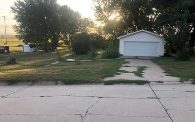 505 Cedar St., Laurel, NE  68745   150′ x 234′ vacant lot with garage   $17,000.00
