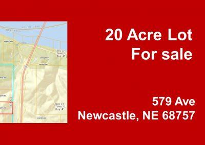 Walton, Charlotte 20 acre Lot 579 Ave, Newcastle