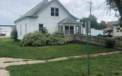 105 Alma St., Laurel, NE  68745 | 1,518 sq. ft.; 3 bdrm; 1 bath;  $15,000.00